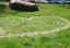 Na podporu boje proti rakovině vzniklo na náměstí Dr. Milady Horákové srdce z květinových kamínků