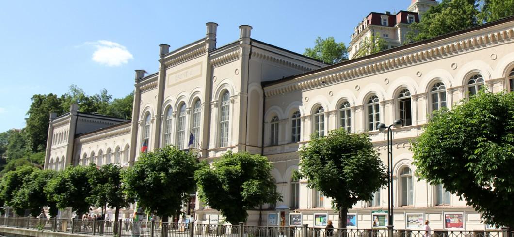 Lázně III. Karlovy Vary/Spa III/Bad III/Spa III/第三号矿泉疗养院/المنتجع الثالث